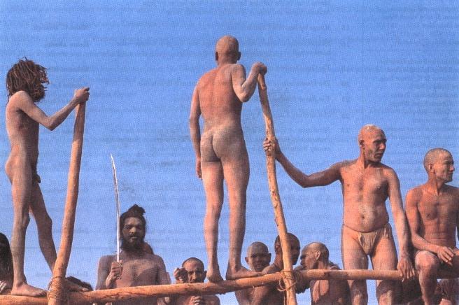 Naga Sadhus at the Maha Kumbh Mela, 2001 - CLICK! back