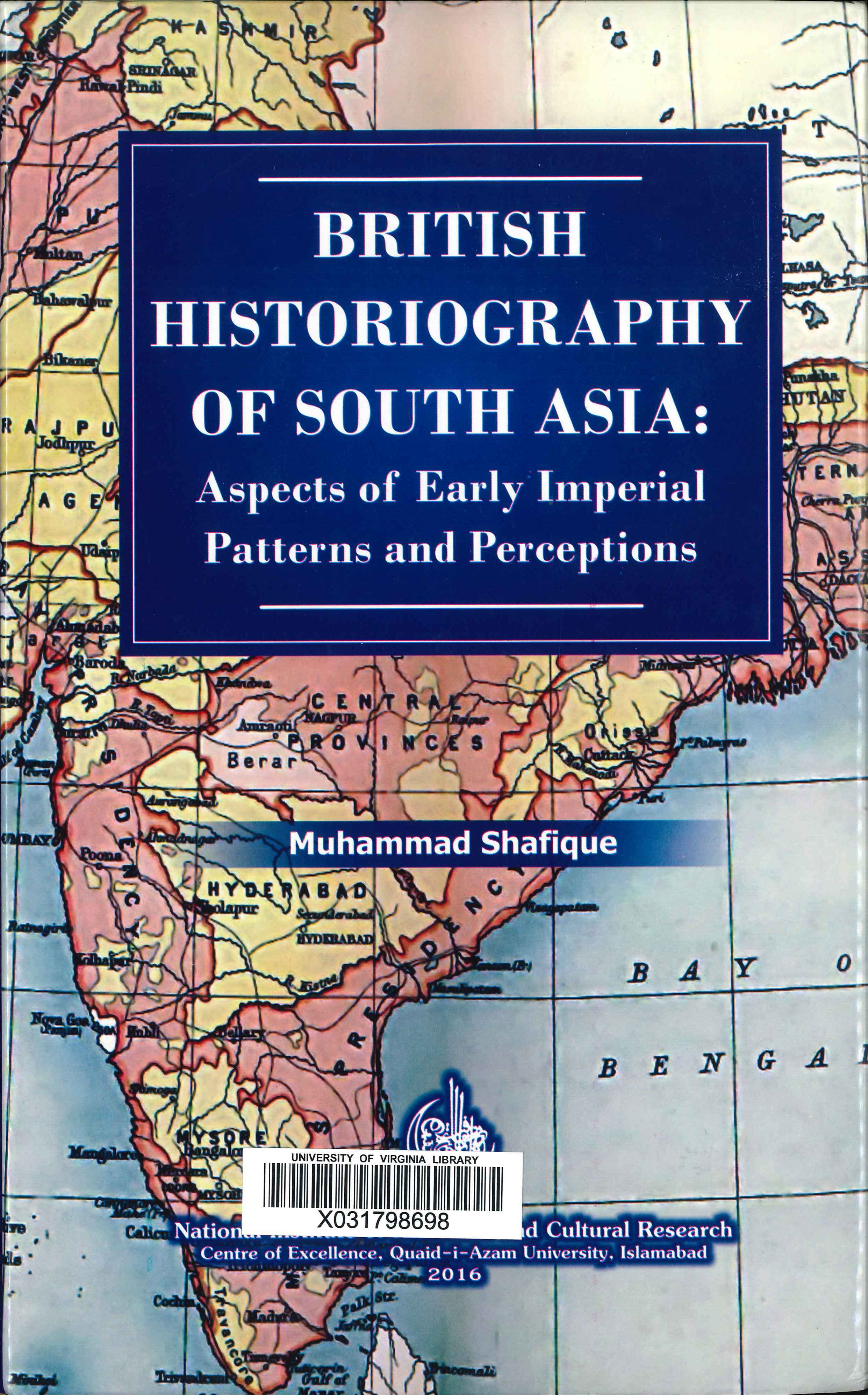 British historiography of South Asia