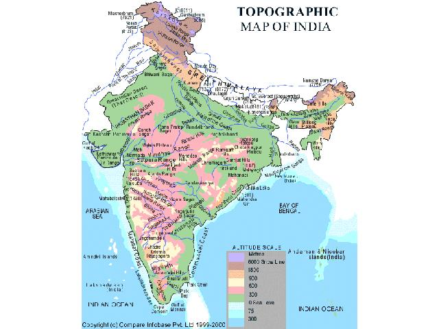 Maps Of India - Map of india