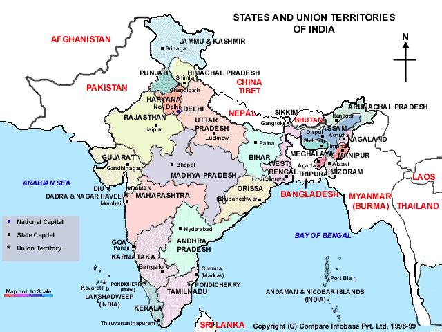 CLICK for India Maps